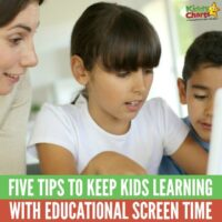 Five tips to keep kids learning with educational screen time