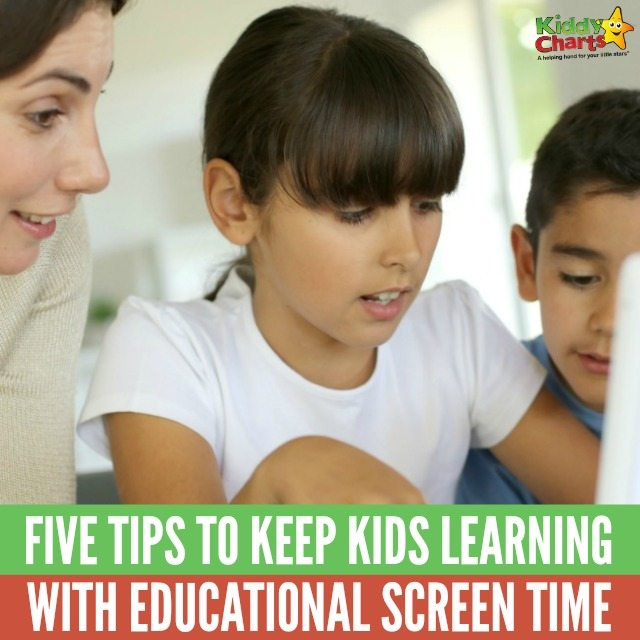 Five awesome tips to keep kids learning with educational screen time