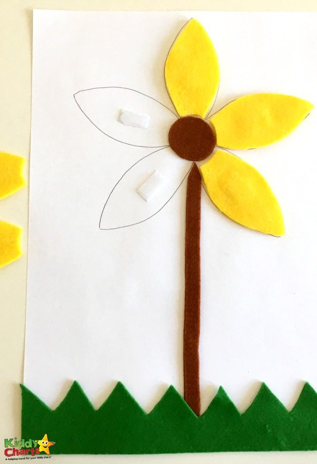 Fun and simple flower activity for toddlers