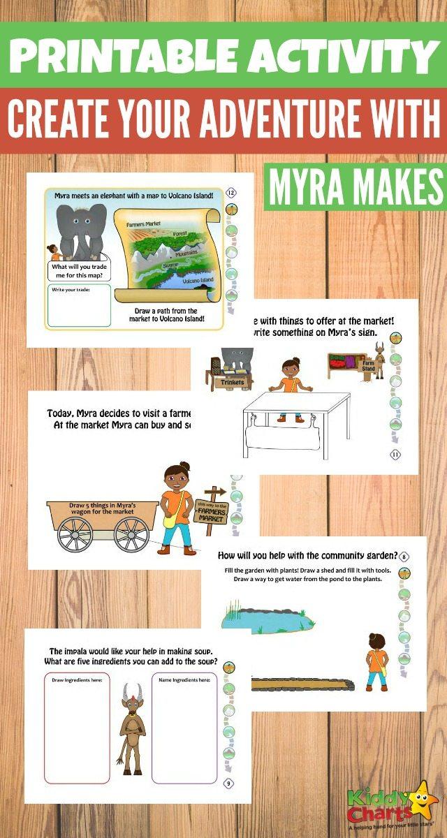 Free Homeschool Activities: Create Your Own Adventure Today With Myra Makes #homeschool #kidsactivities - Homeschool Activities and Homeschool