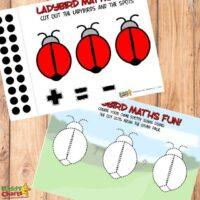 Free Ladybird printable math worksheets