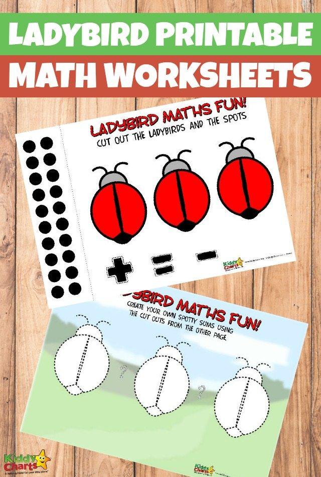 Free Ladybird Printable Math Worksheets
