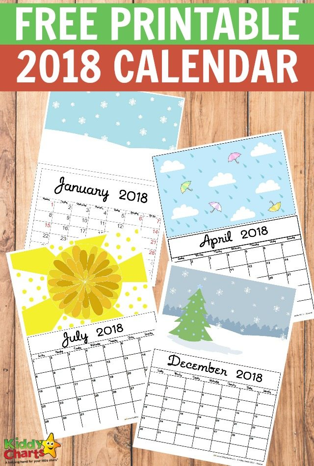 Free Printable  Calendar  Print Yours Here  Kiddycharts