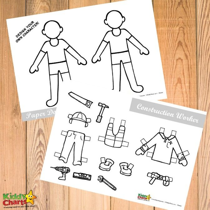 Free printable paper dolls