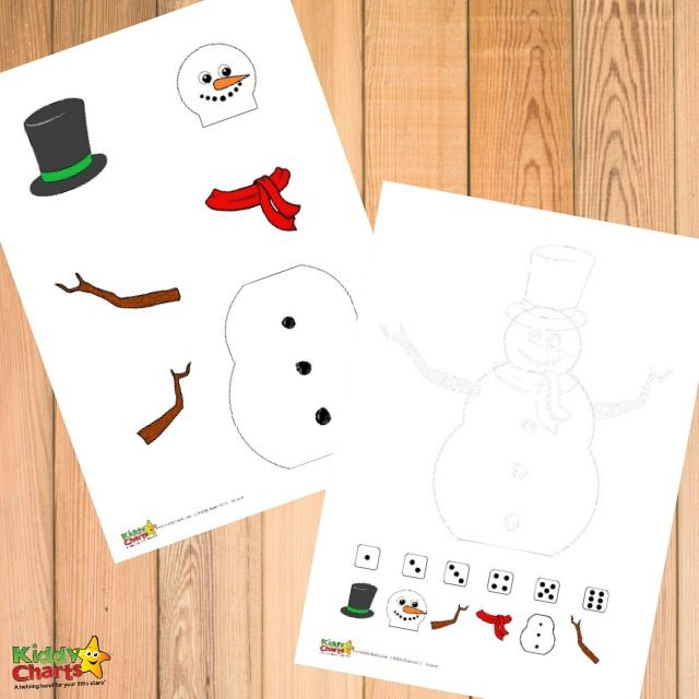 Free winter printable