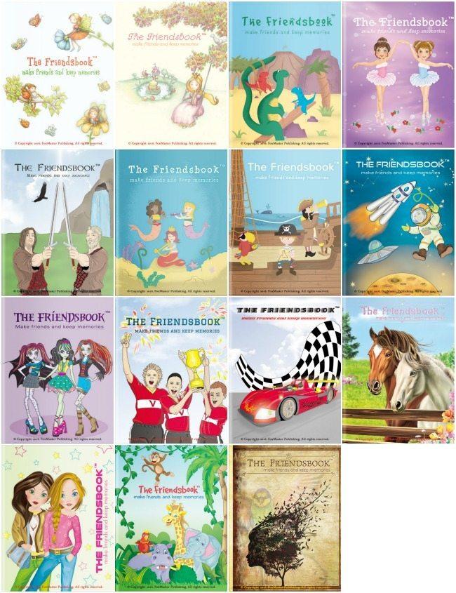 Friendsbook-covers