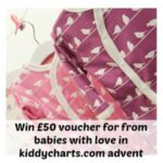 Advent Calendar #14: #Win £50 voucher for from babies with love organic baby clothes