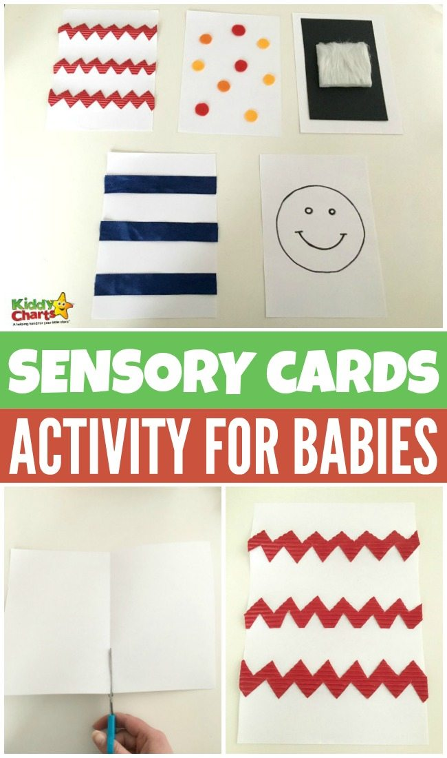 Fun Baby Sensory Cards Activity
