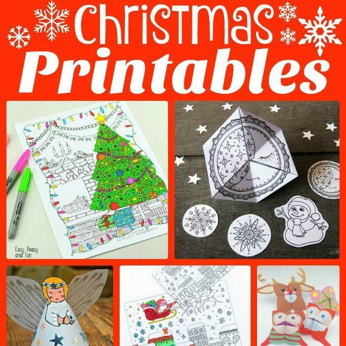 Fun Christmas Printables