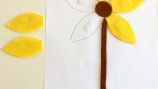 Flower activity for toddlers