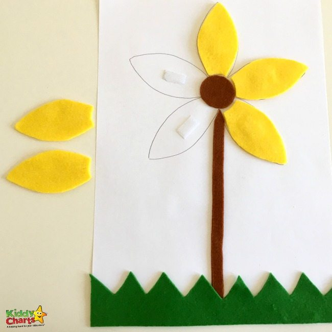 Fun flower activity for toddlers