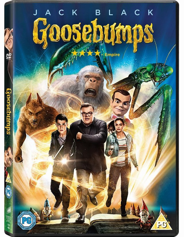 Goosebumps is out on DvD, and it really is as awesome as the books. We have a Slappy makeup tutorial for you to try. But don't forget to buy the DvD as well!