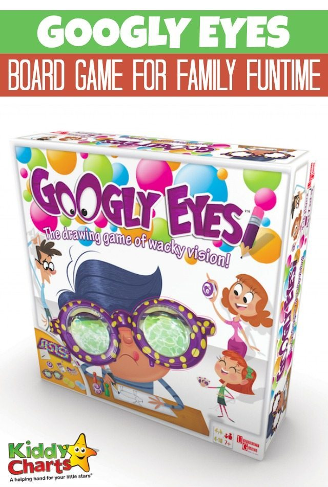 Googly Eyes board game for family funtime