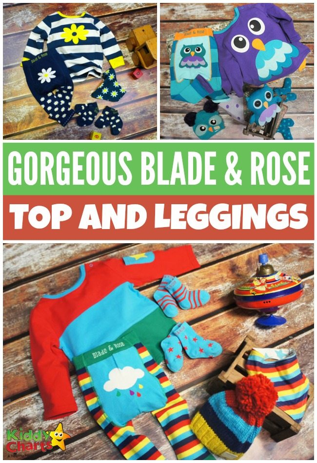 Gorgeous Blade & Rose top and leggings