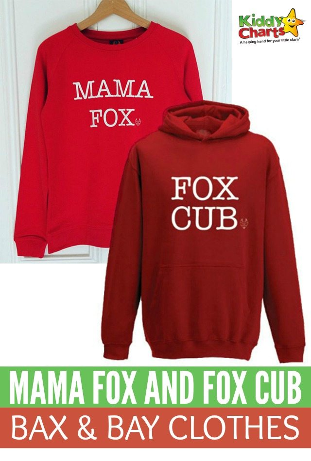 Gorgeous Mama Fox And Fox Cub Bax & Bay Clothes
