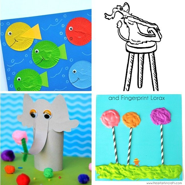 Great Dr Seuss activities and crafts for little ones