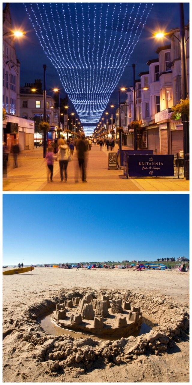 Great yarmouth has a wealth of things to do for kids - including the beach, the lights in town, and the Hippodrome spectacular!