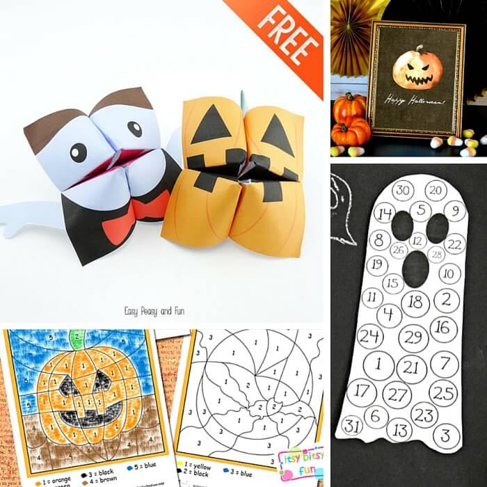 25 Spooky Halloween Printables for Kids