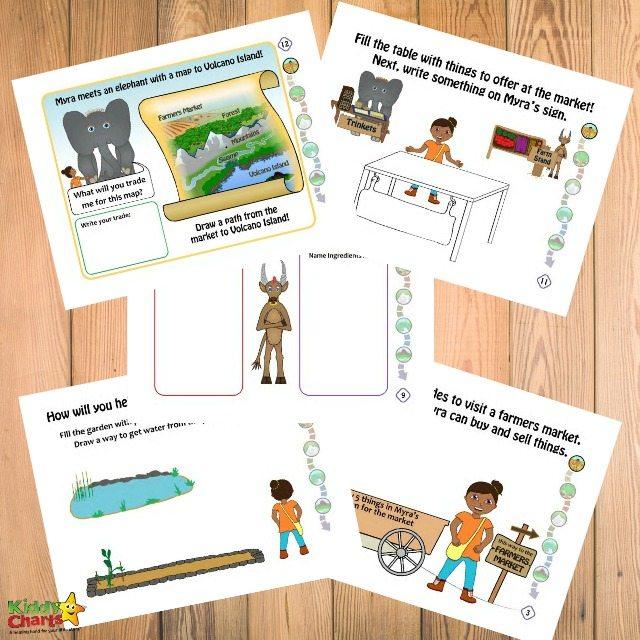 Homeschool Activities: Create Your Own Adventure Today With Myra Makes #homeschool #kidsactivities