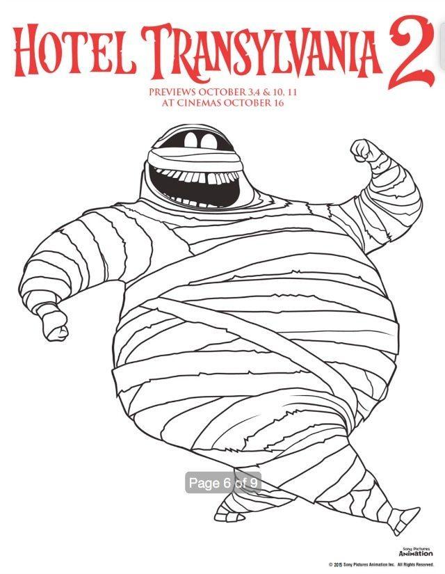 Murray the Mummy in Hotel Transylvania