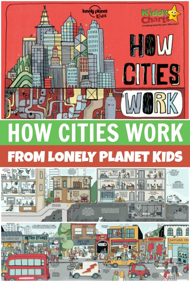 How Cities Work from Lonely Planet Kids