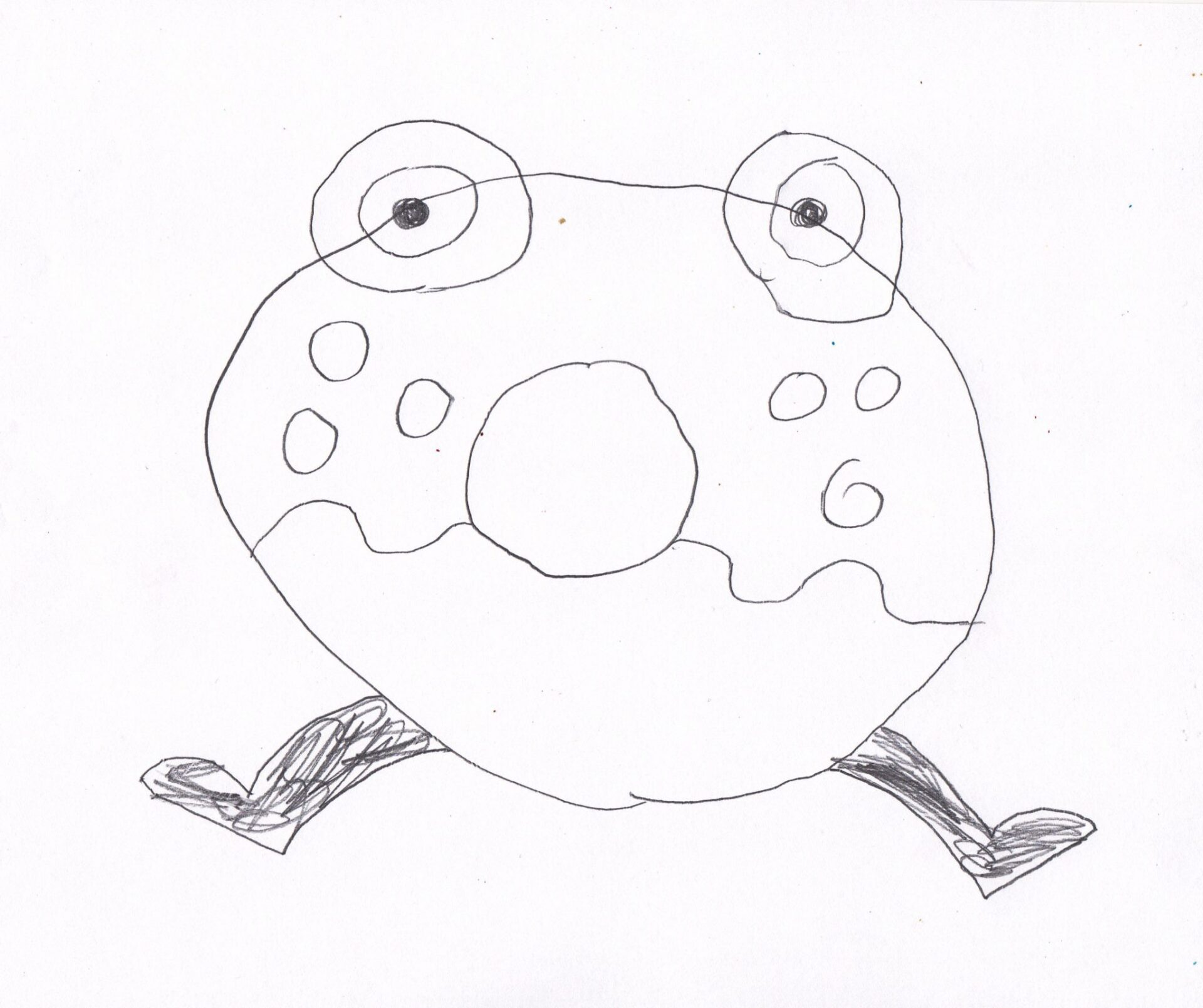 How to draw Oddie: Chatterbox style