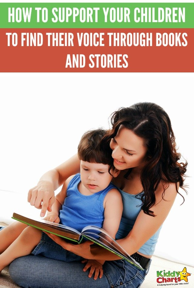 How to support your children to find their voice through books and stories