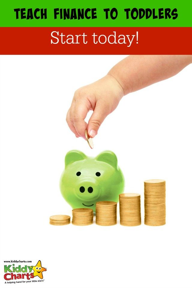 How to teach finance to your toddler. Make your children money savvy! Start today