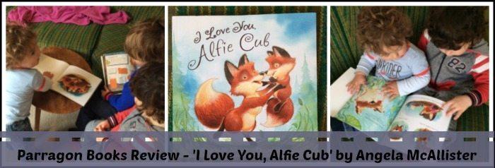 I love you,  Alfie Cub