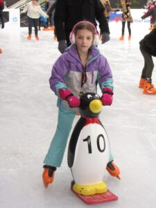 Westfield Ice Rink: Penguins to poetry in motion