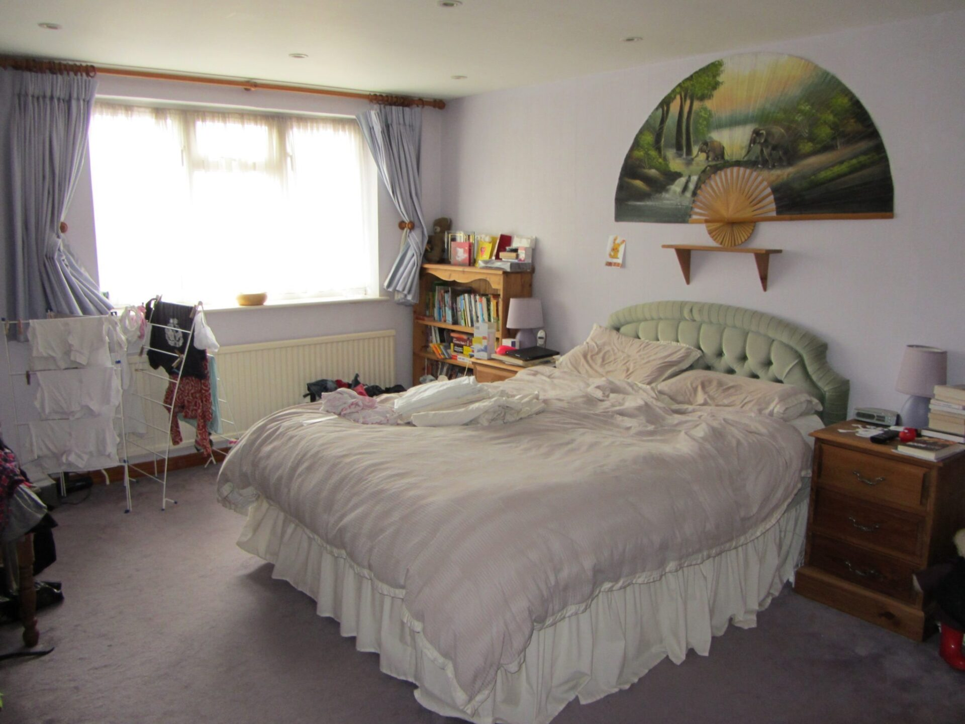 National Bed Month: Our Bedroom