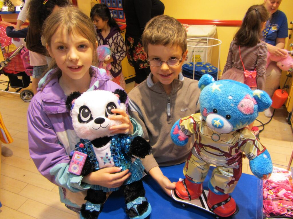 Build a Bear Completed Friends