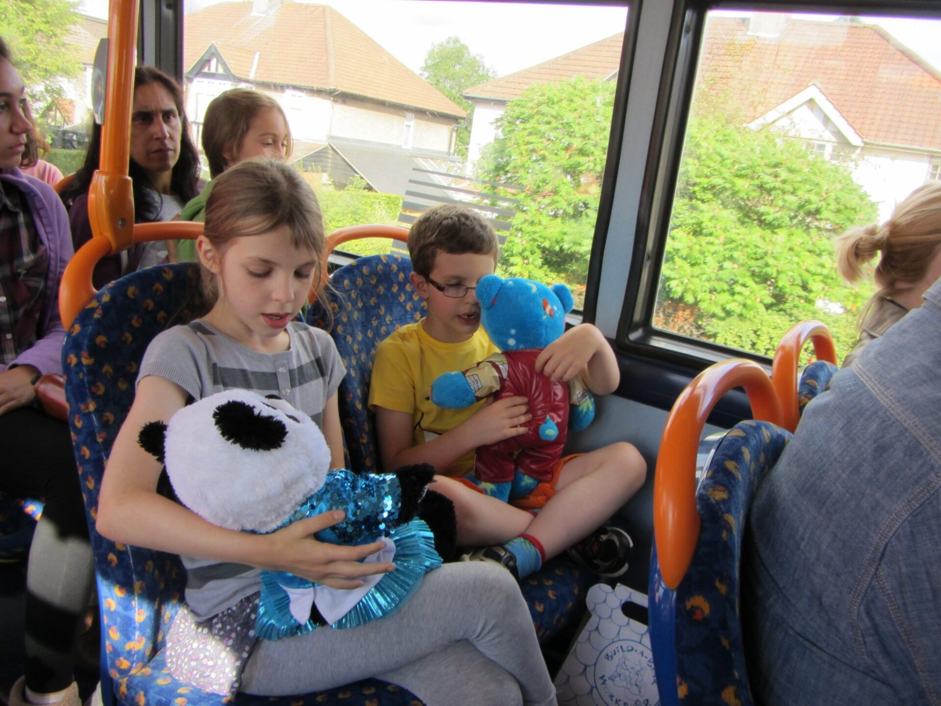 Build a Bear on the Bus