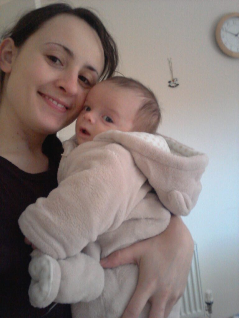 Infant reflux: Victoria and her little man...