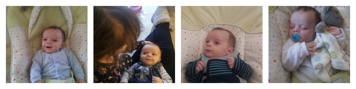 Infant reflux: Joseph is a much happier baby now...