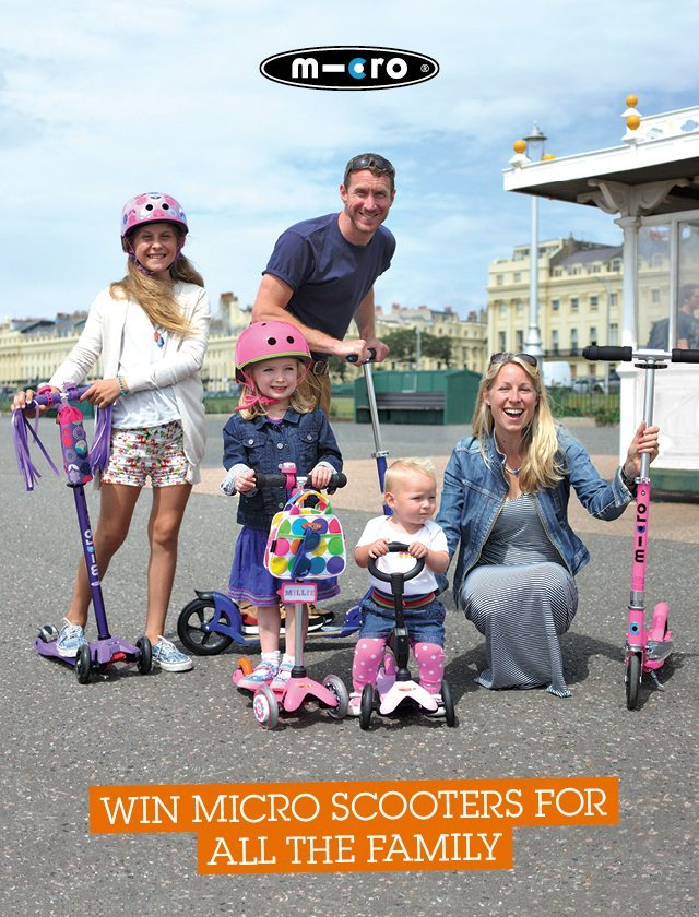 We have more scooters to win on the blog today - a fabulous set for the family. Closes 13th August.