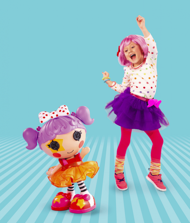Lalaloopsy Dance Will Me dolls are part of a great rage of dolls that your daughters will love to boogie with!