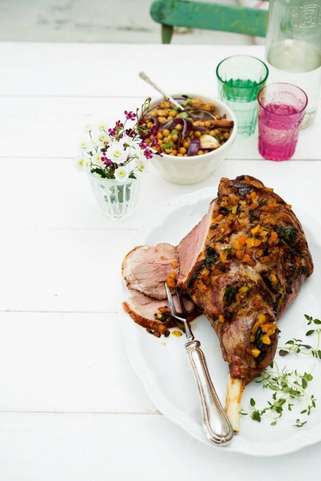 Leg of lamb delicious recipe for the whole family