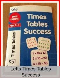 Letts Times Tables Success