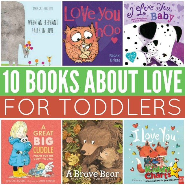 Books about love for toddlers