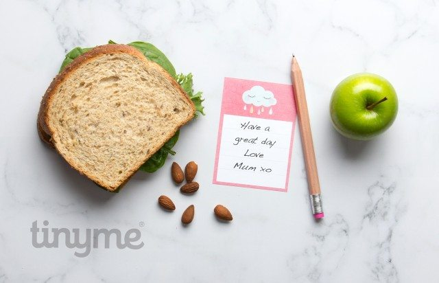 We have blank lunch box notes for you - so that you can write whatever you want to!