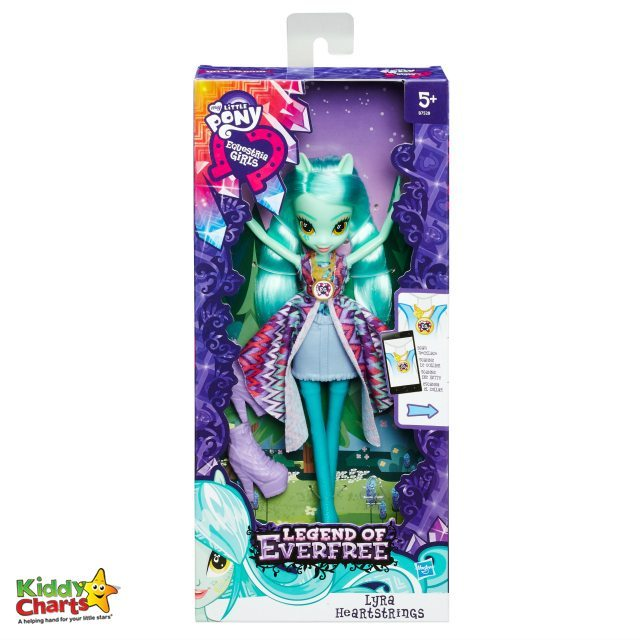 Lyra Heartstrings dolls