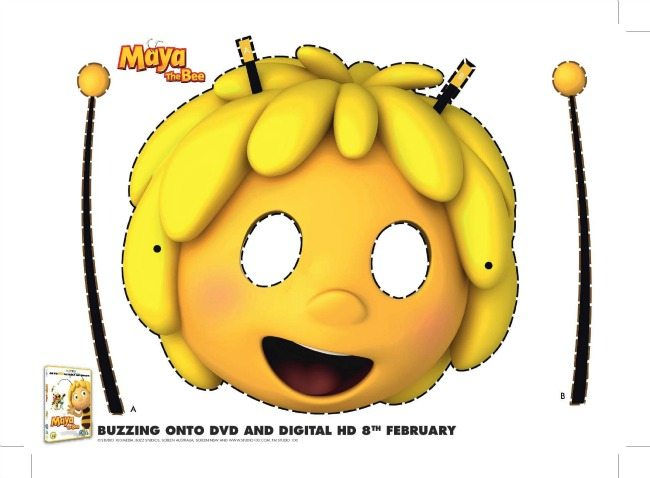 Mask Maya the Bee