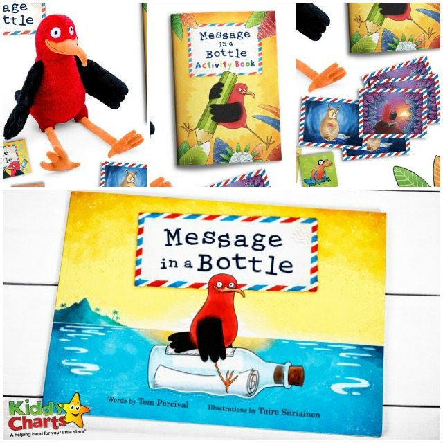 Message in a Bottle £60 bundle including Kiki cuddly toy