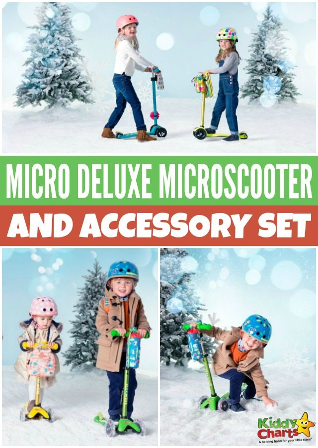 Micro Deluxe Microscooter and accessory set giveaway