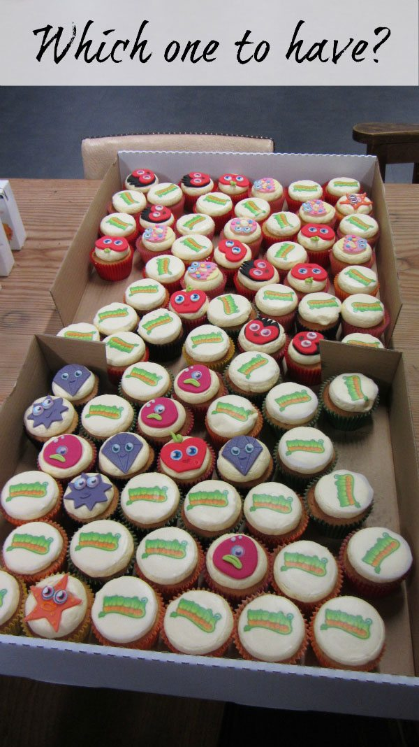 Moshi Monsters Blogger Event: Cakes