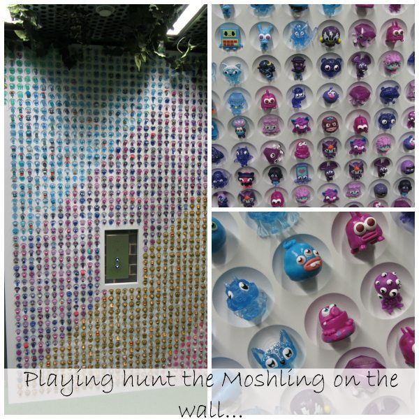 Moshi Monsters Blogger Event: Moshi Wall Collage