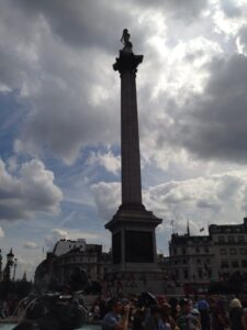 London with Kids: Nelson's Column
