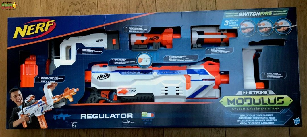 Great Nerf gun for the kids - a Modulus Regulator!