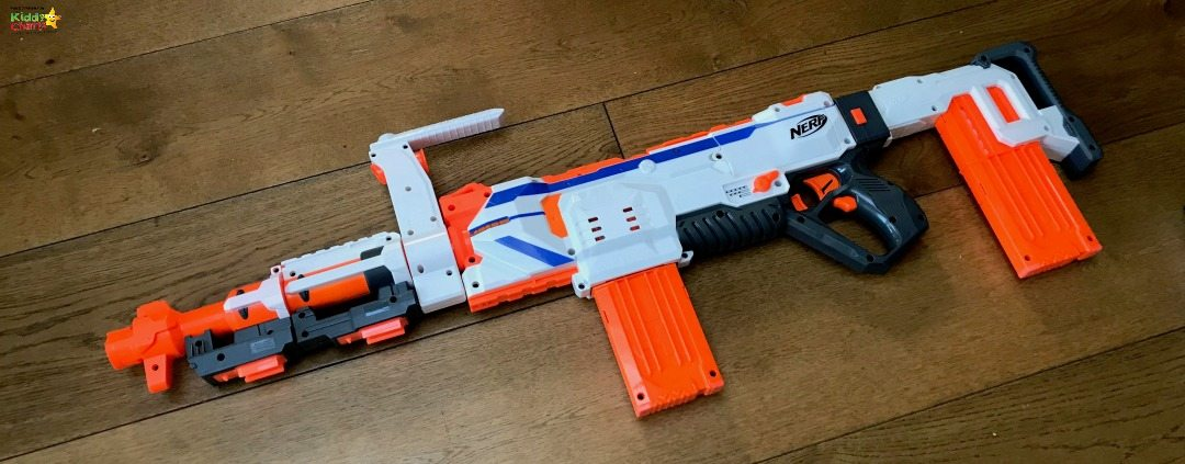 This is the largest the Nerf Gun gets!